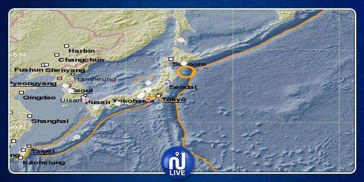 Séisme au Japon, sur l'Île de Honshu, de magnitude 6,1