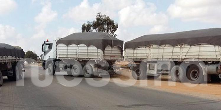 بن قردان: تواصل منع مرور الشاحنات التجارية إلى راس جدير
