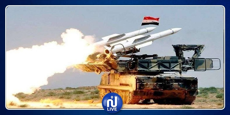 الدفاعات الجوية السورية تتصدى لهجوم صهيوني من البحر المتوسط