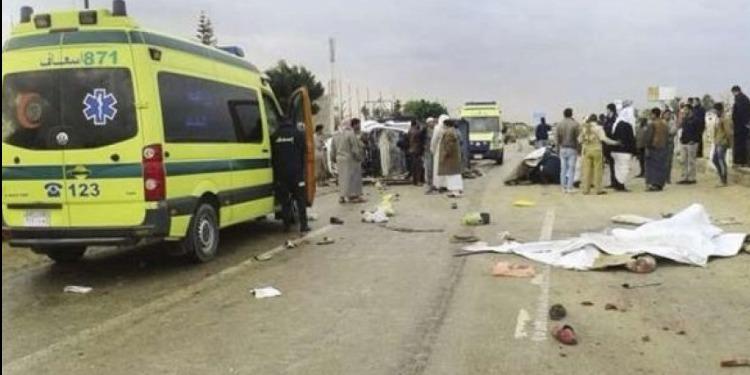 مصرع 11 مصريا في حادث سير جنوبي القاهرة