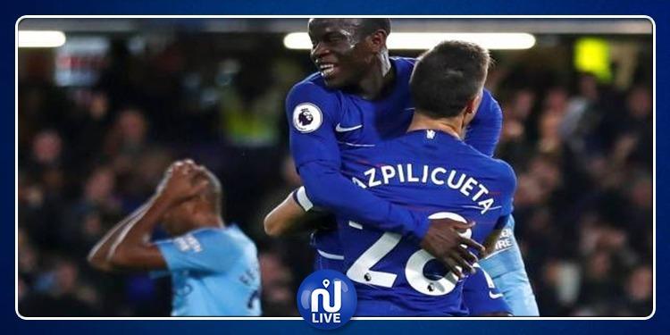 Premier League: Manchester City battu par Chelsea
