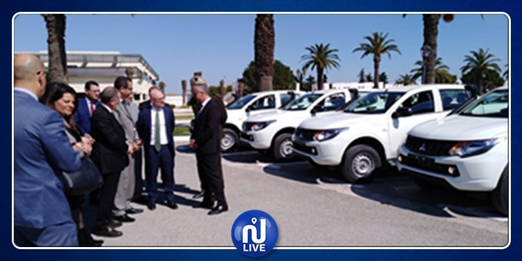 L'Italie fait don de 50 véhicules à la Garde nationale tunisienne