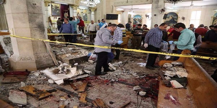 إحالة المتهمين بتفجير كنائس بمصر إلى المحكمة العسكرية