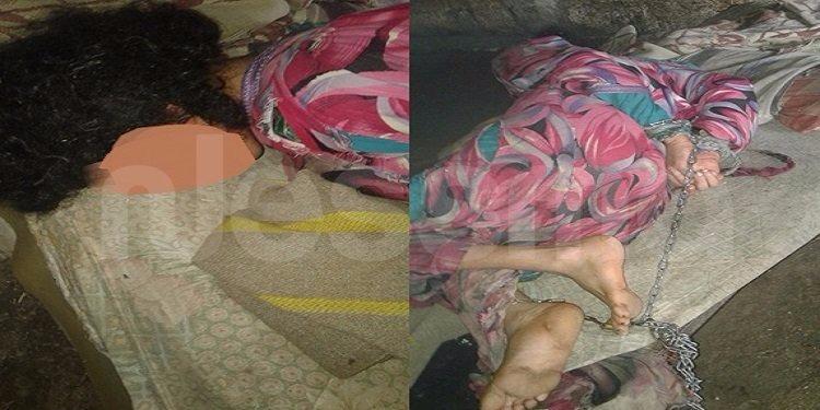 صادم في جندوبة: أم تحتجز ابنتها داخل اسطبل وتشد وثاقها بسلسلة حديدية