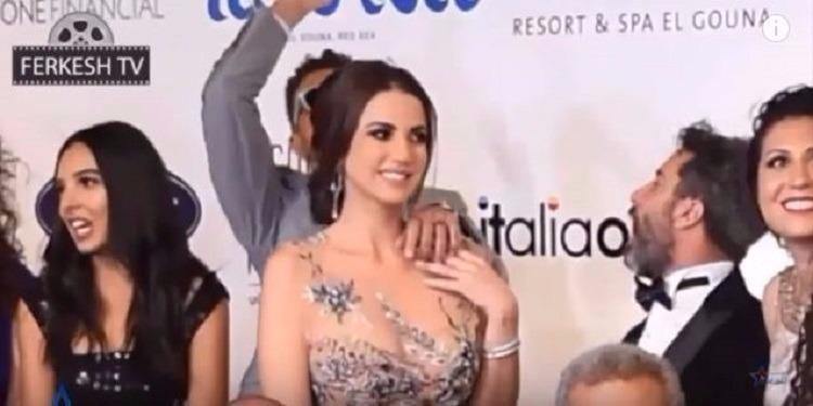 درة زروق توضح حقيقة  فيديو أحمد الفيشاوي (فيديو)
