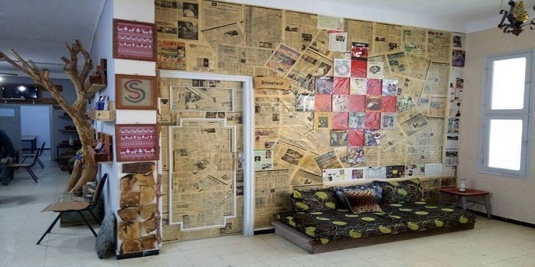 Un directeur de Maison de culture fait de l'établissement une œuvre d'art à Chorbane
