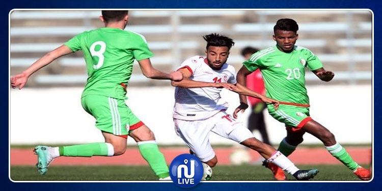 CAN-U23 (Préparation): La Tunisie fait match nul face à l'Algérie