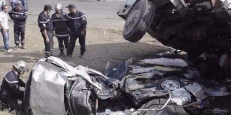 باجة: 6 مصابين في حادثي مرور متزامنين