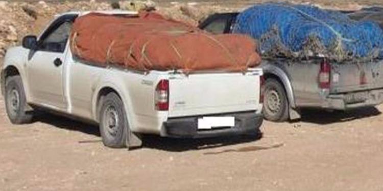 القصرين: حجز بضائع مهربة على متن 3 سيارات بقيمة تجاوزت 250 ألف دينار