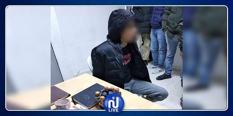 إلقاء القبض على المشتبه به في 'حرق عائلته' بوادي الليل