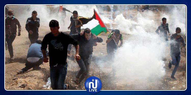 إصابة 14 فلسطينيا برصاص جيش الإحتلال الإسرائيلي