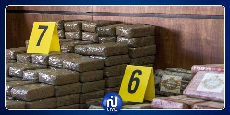 الأمن المغربي يضبط 28 طنا من المخدرات !