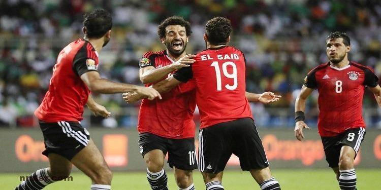 الاتحاد المصري يتعاقد مع شركة أنقليزية للتكفل بتغذية اللاعبين في مونديال روسيا