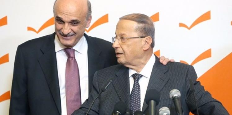 لبنان: سمير جعجع يتبنى ترشيح ميشال عون لرئاسة الجمهورية