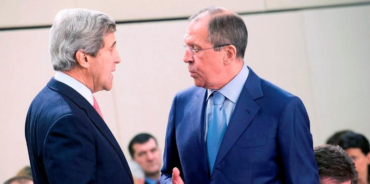 وقف إطلاق النار في سوريا : لافروف و كيري يتفقان على ضرورة التنسيق العسكري