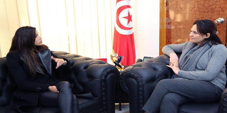 وزارة الشباب والرياضة تدعم البطلة التونسية حبيبة الغريبي