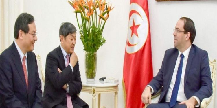 يوسف الشاهد يلتقي برئيس الوكالة اليابانية للتعاون الدولي