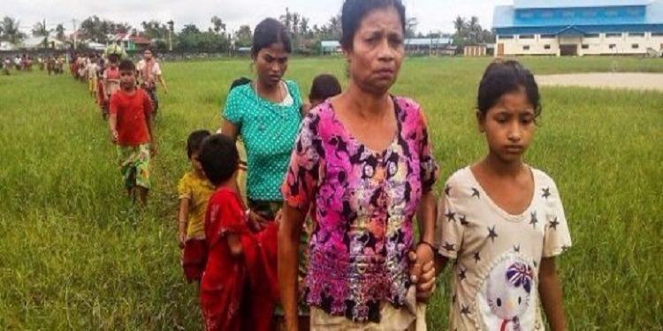 بنغلاديش تمنع 100 ألف شخصا من مسلمي الروهينغا من دخول أراضيها