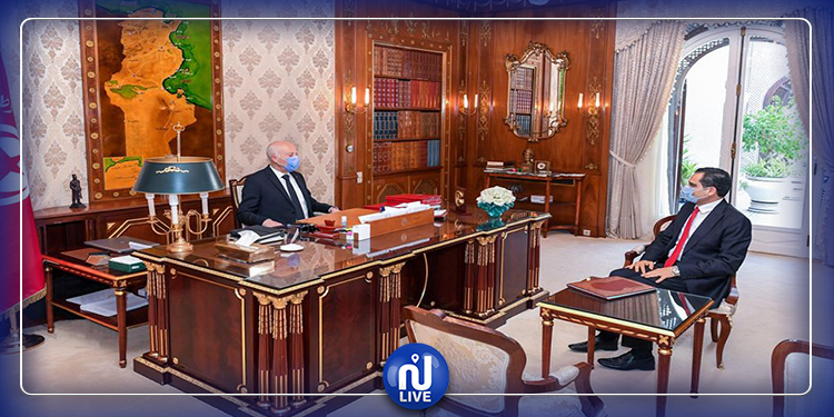 محاور لقاء رئيس الجمهورية بوزير الخارجية  (فيديو)