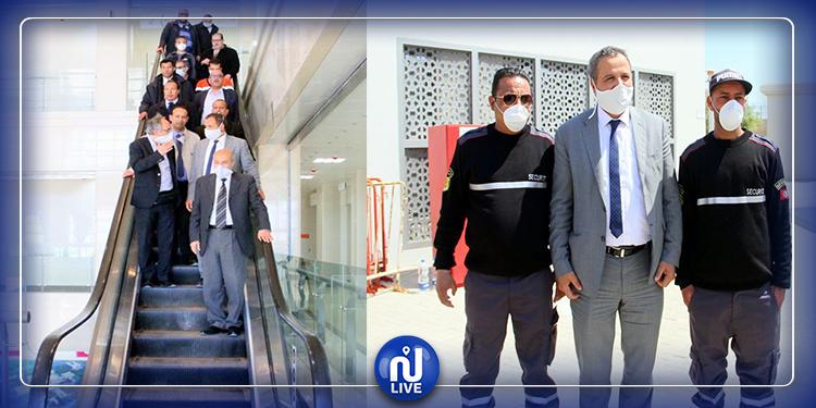 وزير الصحة يزور المستشفى الجديد بصفاقس