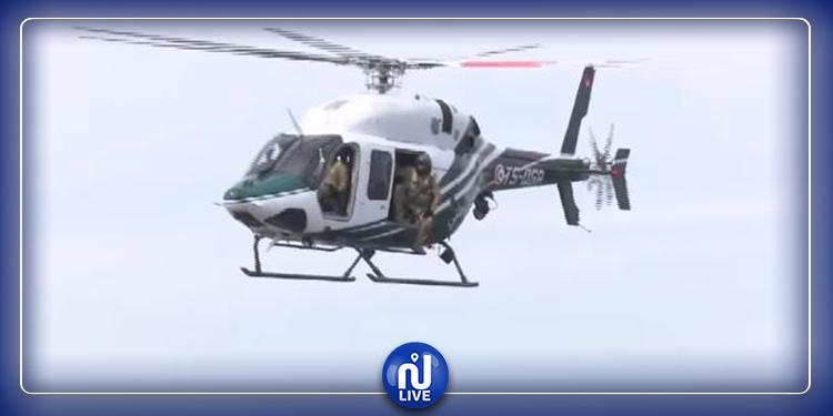 الحرس الوطني ينفّذ طلعات جوية لمراقبة الحجر الشامل (فيديو)