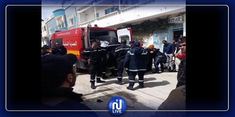 سليانة: نقل شاب إلى المستشفى بعد أن أضرم النار بجسده