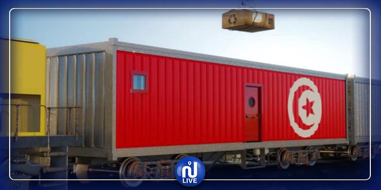 تحويل قطار إلى مستشفى ميداني لعلاج المصابين بفيروس كورونا