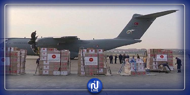 تركيا ترسل مساعدات طبية لإسرائيل