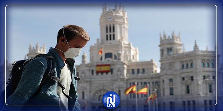 تراجع الوفيات في اسبانيا