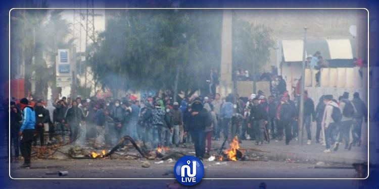 ايقاف 9 أشخاص بسبب أحداث الشغب في بنزرت