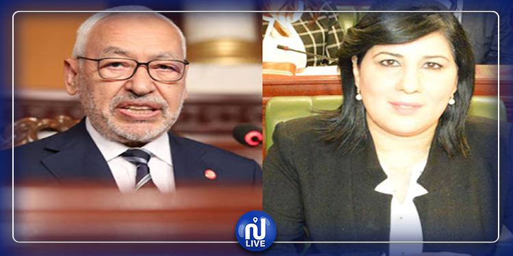 رئاسة البرلمان تتضامن مع عبير موسي