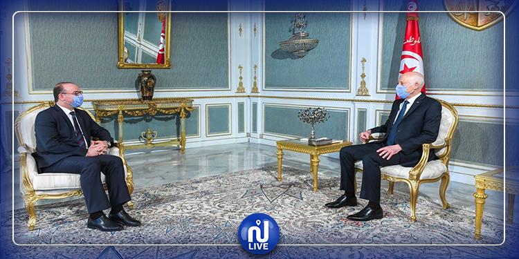 المستجدات الوبائية محور لقاء رئيس الجمهورية برئيس الحكومة