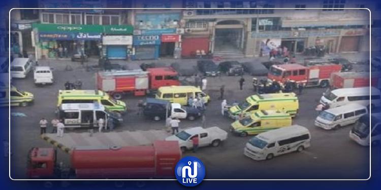 حريق في مستشفى مصري يقتل 7 مصابين بفيروس كورونا