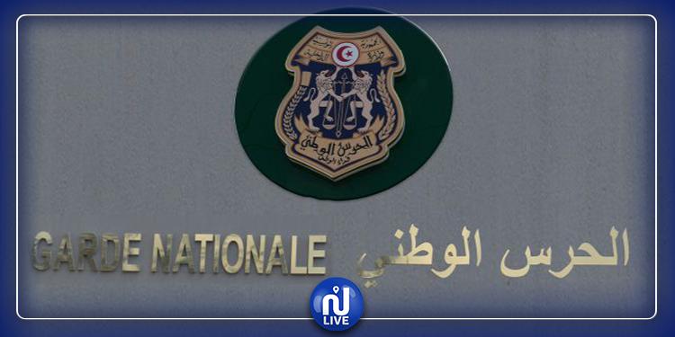 الحرس الوطني يحبط تهريب بضائع بقيمة 842 ألف دينار