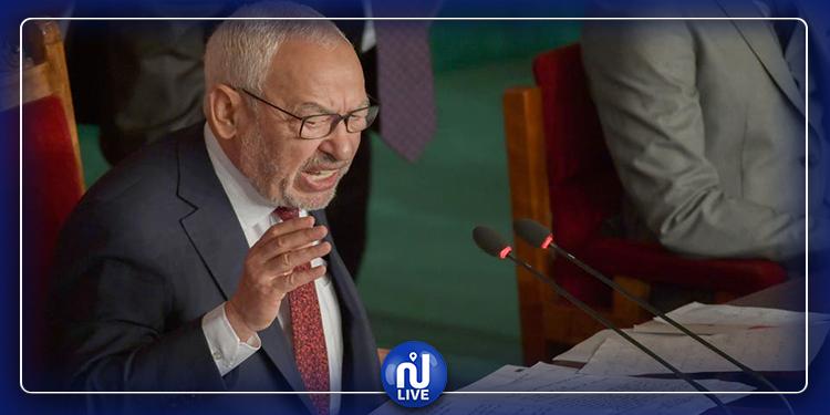 راشد الغنوشي: ''مجلس النواب يتعرض إلى حملة شعواء''