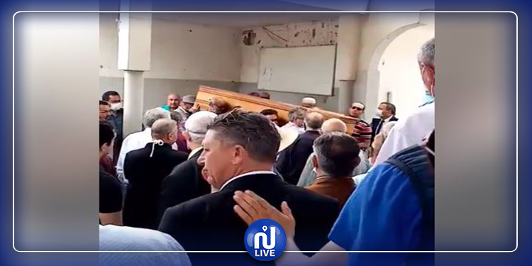 تشييع جثمان الأستاذ محمد الطاهر خلف الله إلى مثواه الأخير