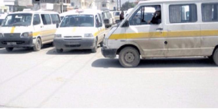 بعد إيقافه منقبل أعوان الأمن.. سائق سيارة نقل ريفي يحرق سيارته