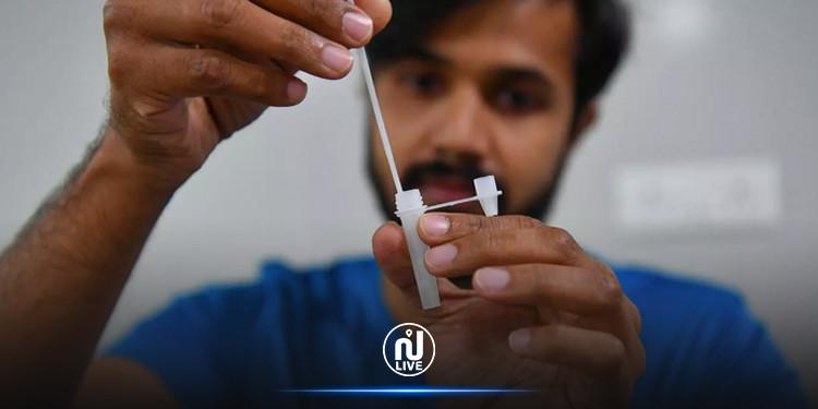 الهند: إطلاق اختبار منزلي للكشف عن فيروس كورونا