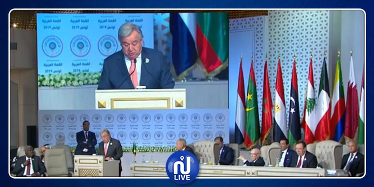 غوتيريش: الدول العربية بذلت جهودا وتضحيات كبيرة في مكافحة الإرهاب