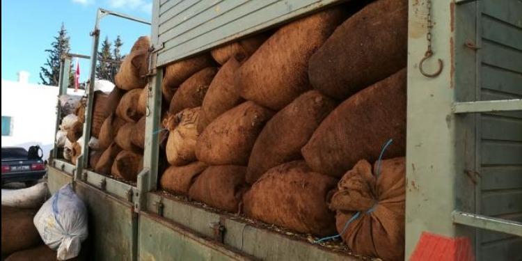 القصرين: حجز 34 طنا من الزيتون المهرب