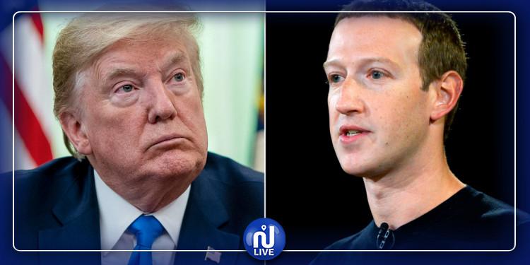 Entretien téléphonique Trump-Zuckerberg