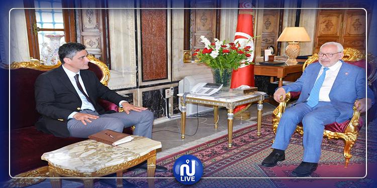 Ghannouchi se réunit avec les présidents des blocs parlementaires