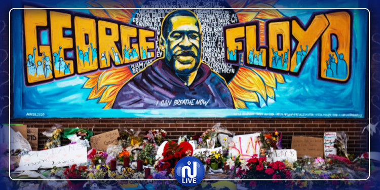 En Syrie et dans plusieurs pays, les artistes rendent hommage à George Floyd