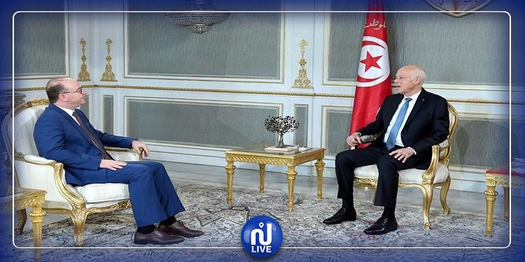 Le président de la République s'entretient avec Elyes Fakhfakh