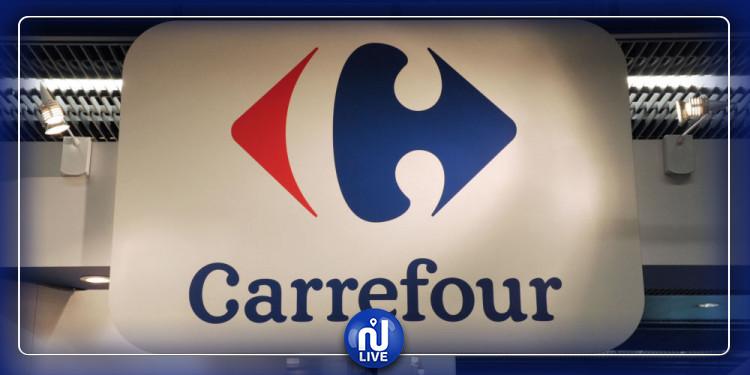 Carrefour livre 40 tonnes d'aide alimentaire au Liban