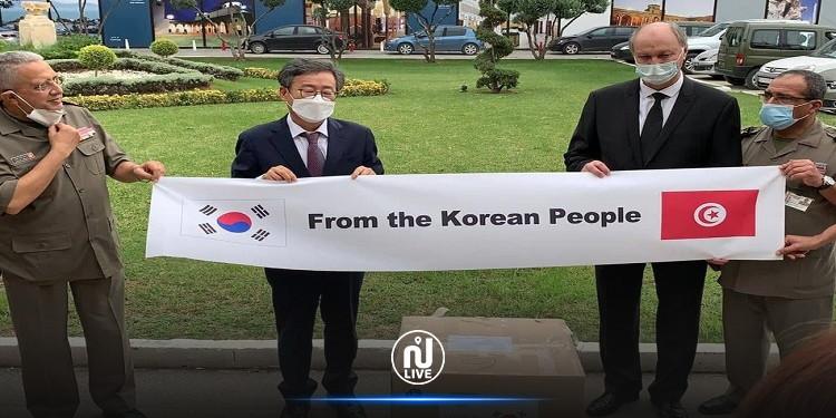Covid-19: La Corée fait don de plus de 27 mille tests rapides à la Tunisie