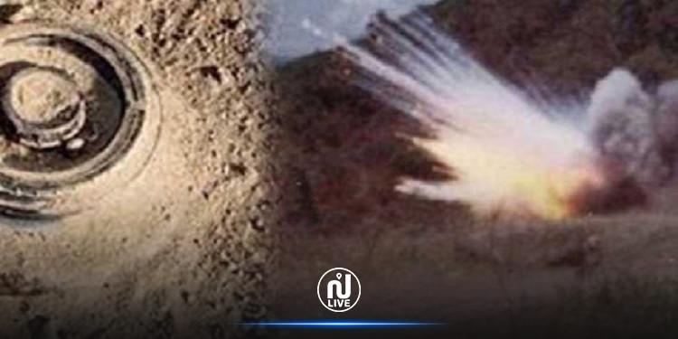 Explosion d'une mine à Gafsa