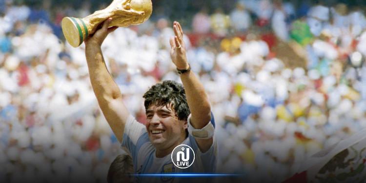 Maradona, la légende du football, nous a quittés !