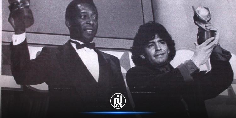 Pelé rend un ultime hommage à Maradona