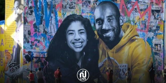 Des centaines de fresques en hommage à la légende du basket, Kobe Bryant (Vidéo)
